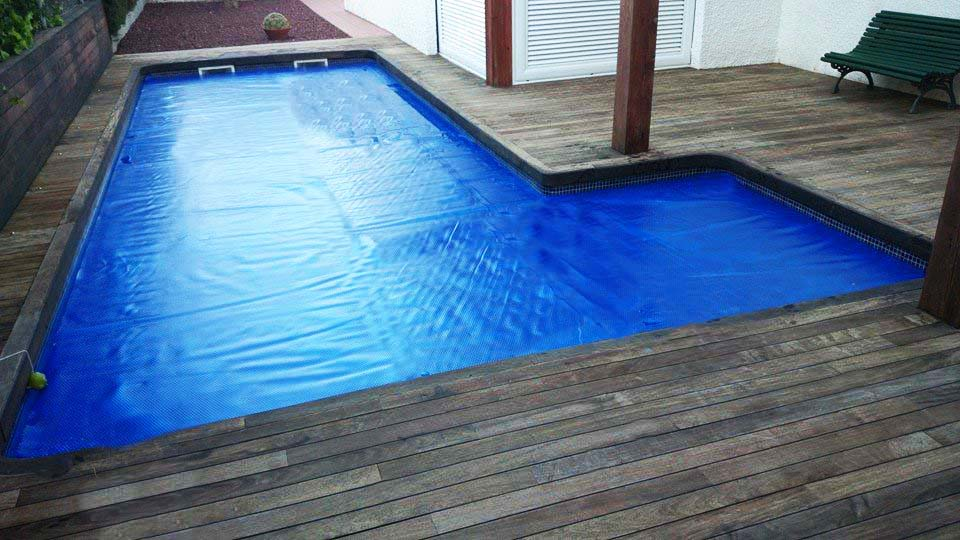 Manta térmica azul