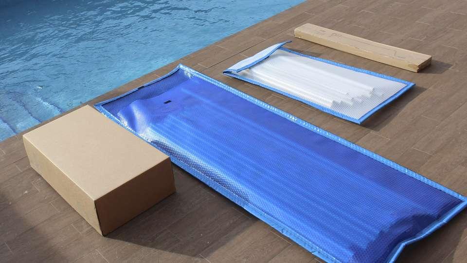 Cobertor de barras entrega