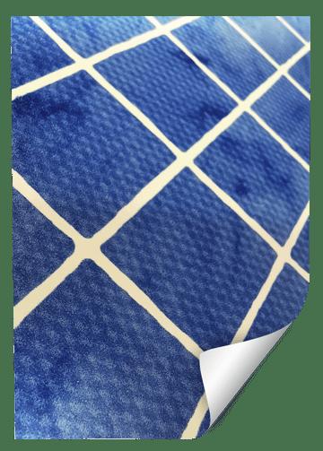 diseño mosaico azzurro